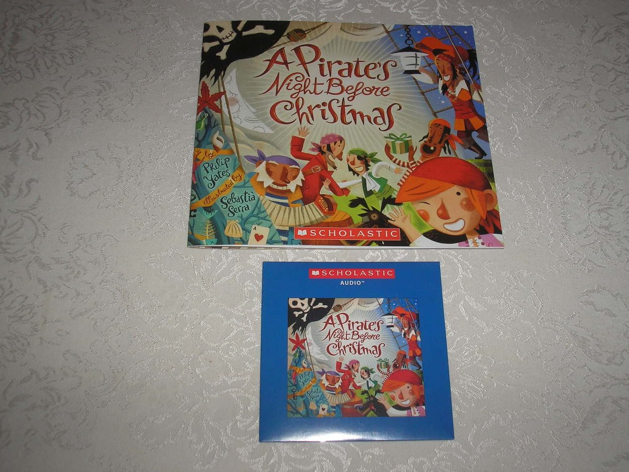 Image 0 of A Pirate's Night Before Christmas brand new sc and sealed Audio CD Philip Yates