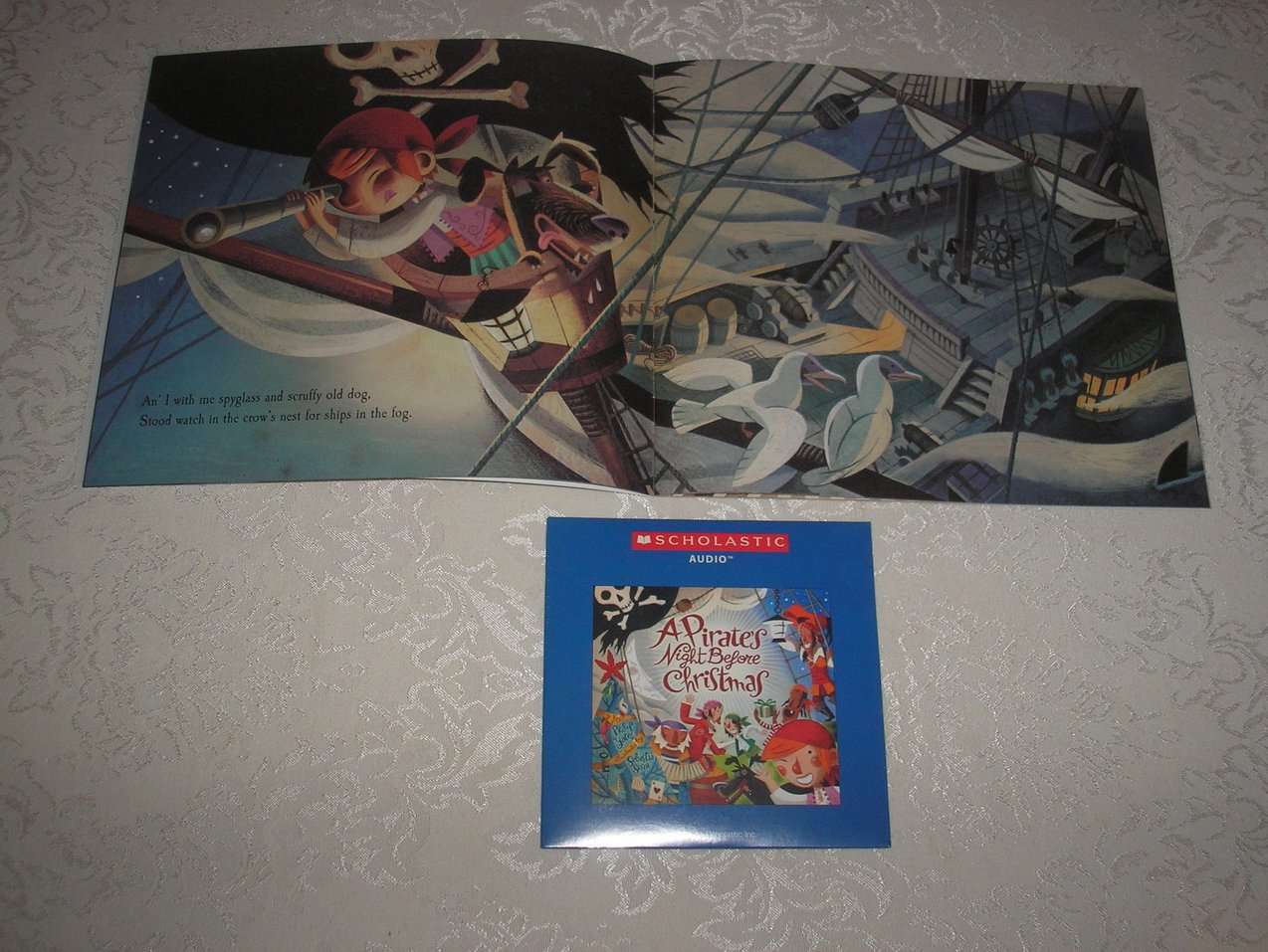 Image 1 of A Pirate's Night Before Christmas brand new sc and sealed Audio CD Philip Yates