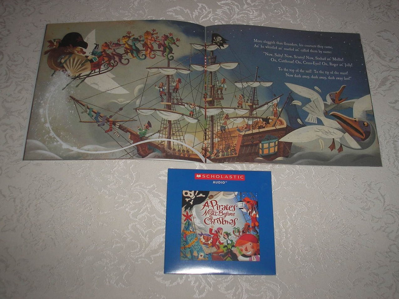 Image 2 of A Pirate's Night Before Christmas brand new sc and sealed Audio CD Philip Yates