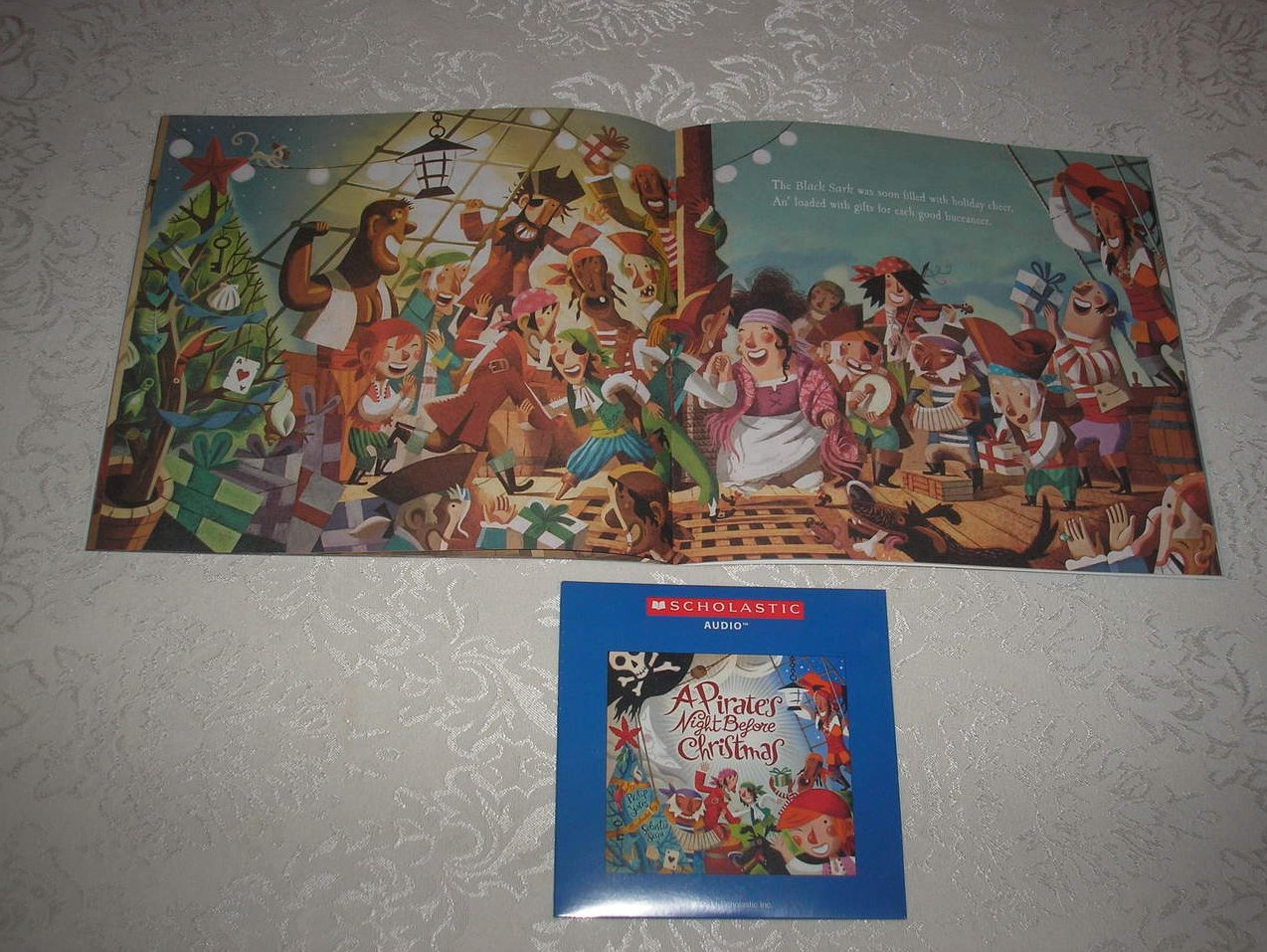 Image 3 of A Pirate's Night Before Christmas brand new sc and sealed Audio CD Philip Yates