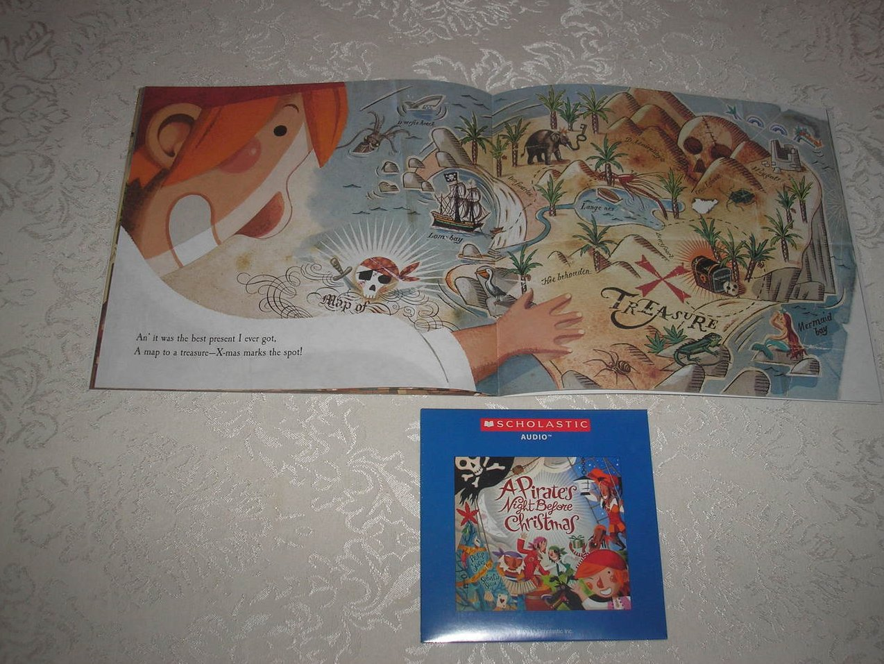 Image 4 of A Pirate's Night Before Christmas brand new sc and sealed Audio CD Philip Yates