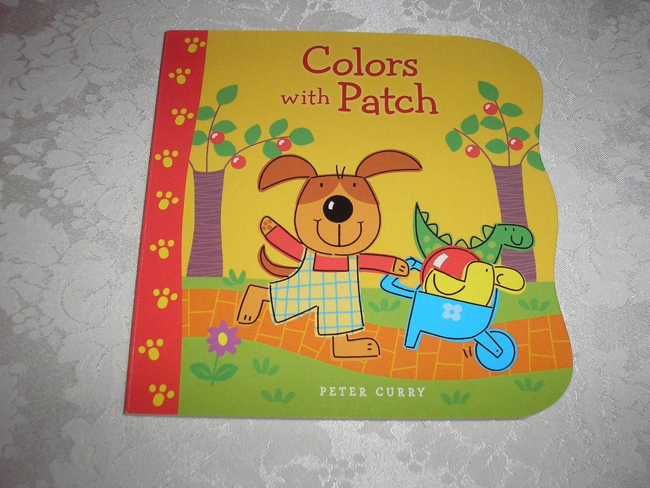 Colors With Patch Peter Curry brand new board book