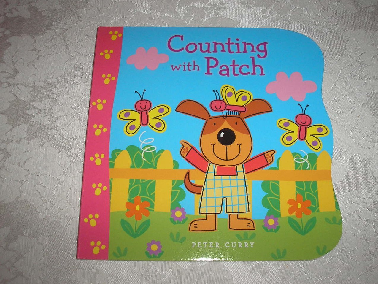 Counting With Patch Peter Curry brand new board book