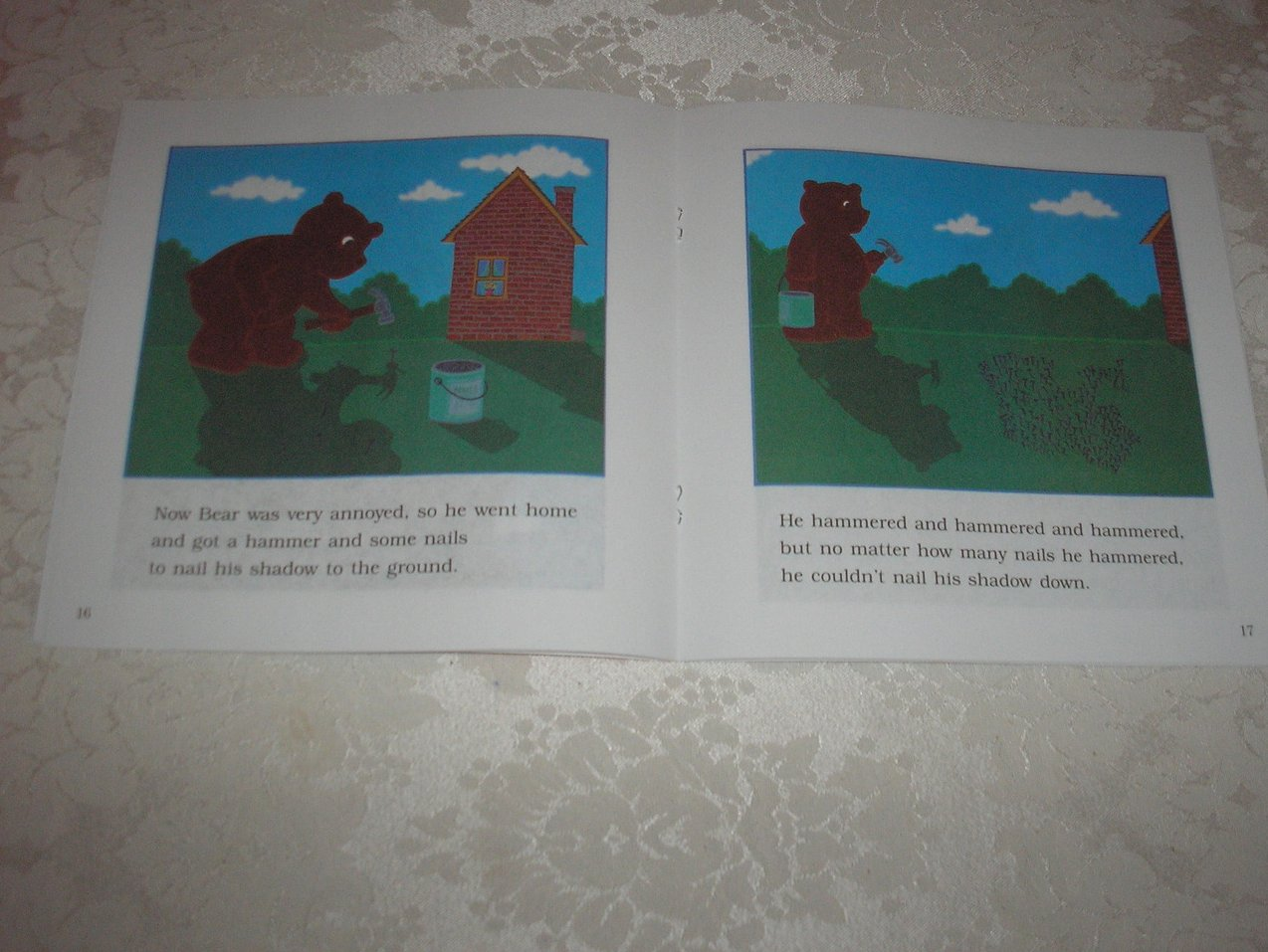 Image 2 of Bear Shadow Frank Asch Brand New Softcover