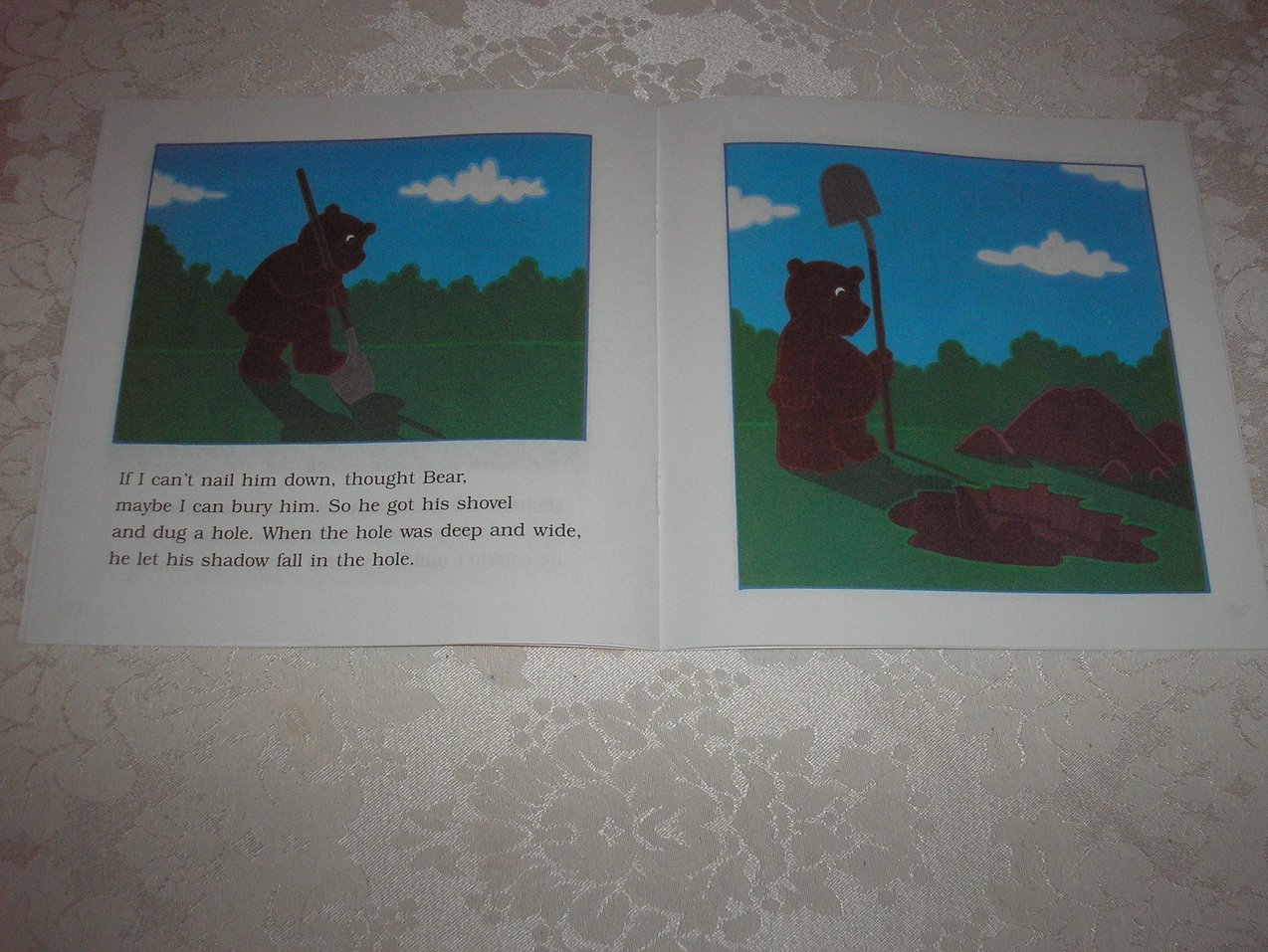 Image 3 of Bear Shadow Frank Asch Brand New Softcover