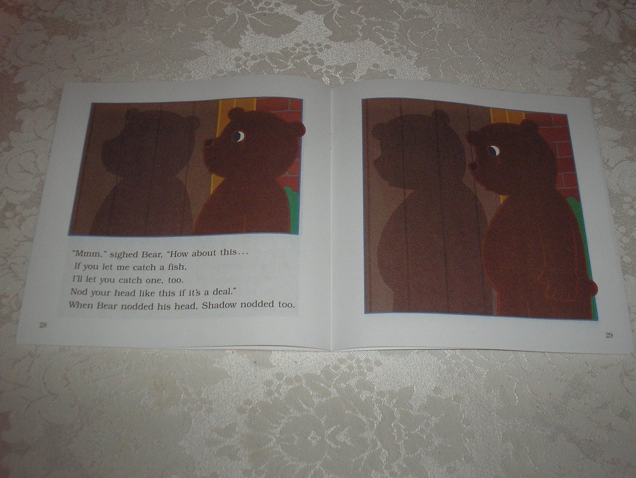 Image 4 of Bear Shadow Frank Asch Brand New Softcover