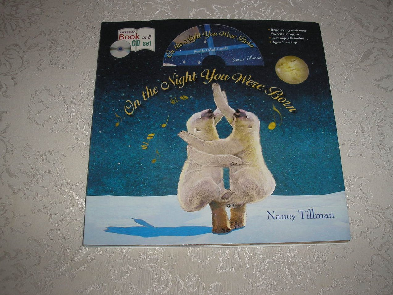 On the Night You Were Born brand new sc and Audio CD Nancy Tillman