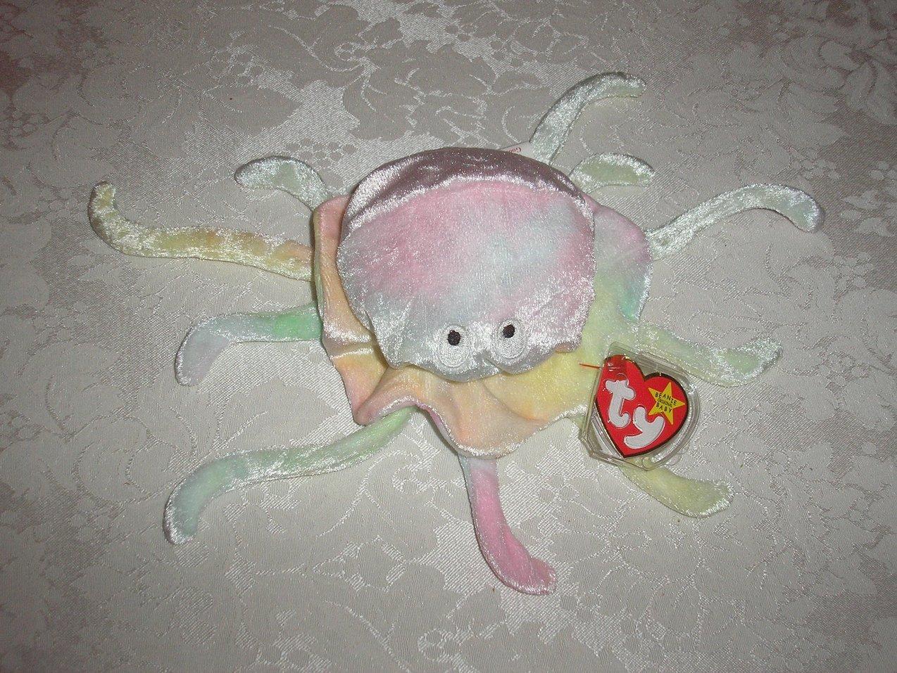 Ty Original Beanie Baby Goochy Jellyfish November 18, 1998