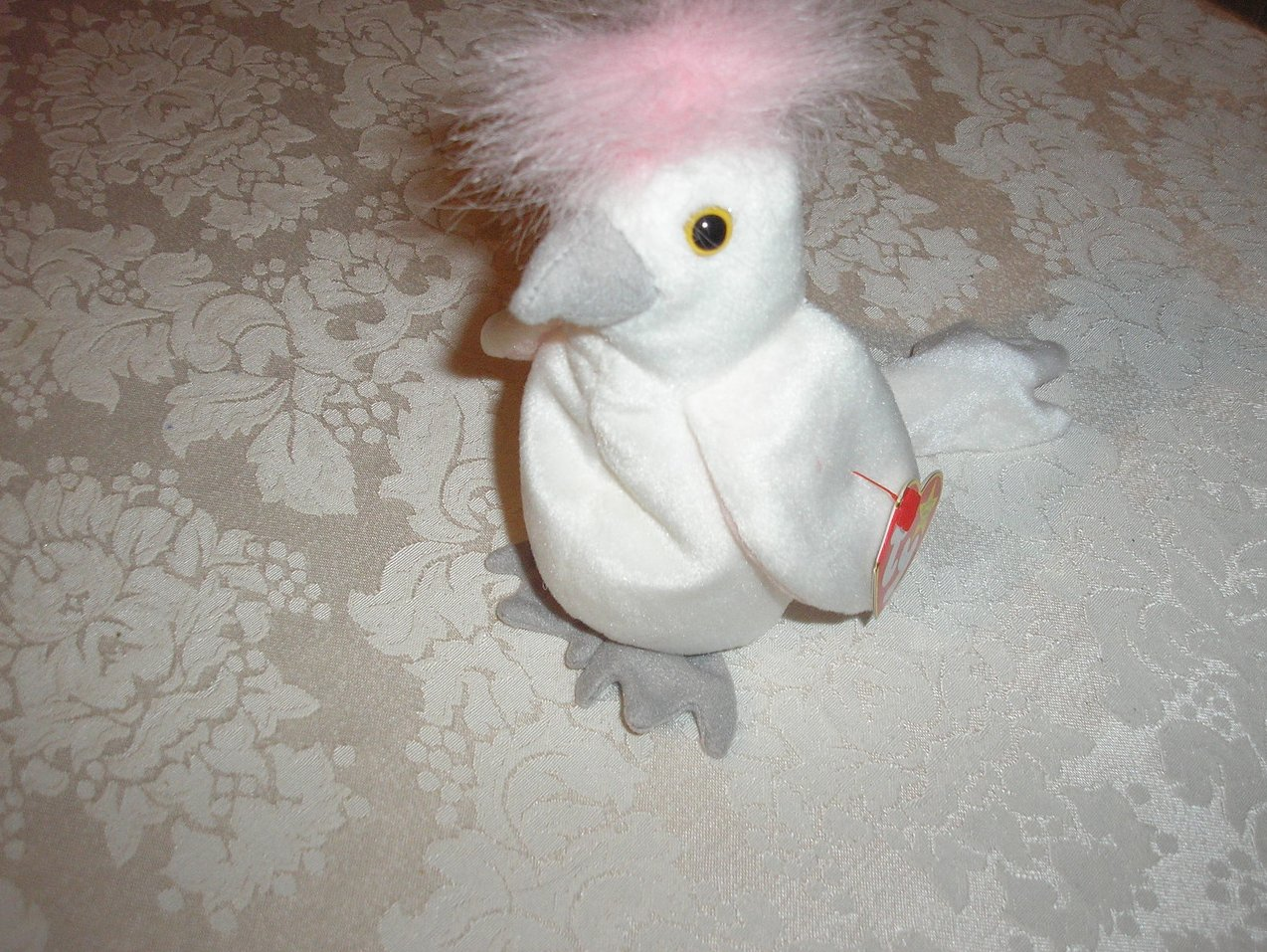 Ty Original Beanie Baby KuKu Cockatoo January 5, 1997