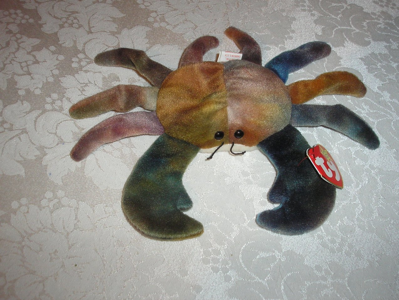 Ty Original Beanie Baby Claude Crab September 3, 1996