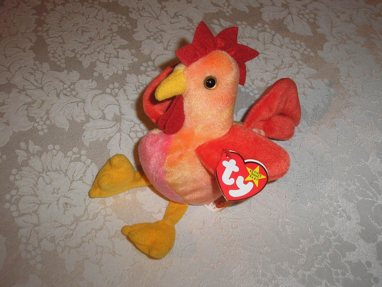 Image 0 of Ty Original Beanie Baby Strut Rooster March 8 aa289338968