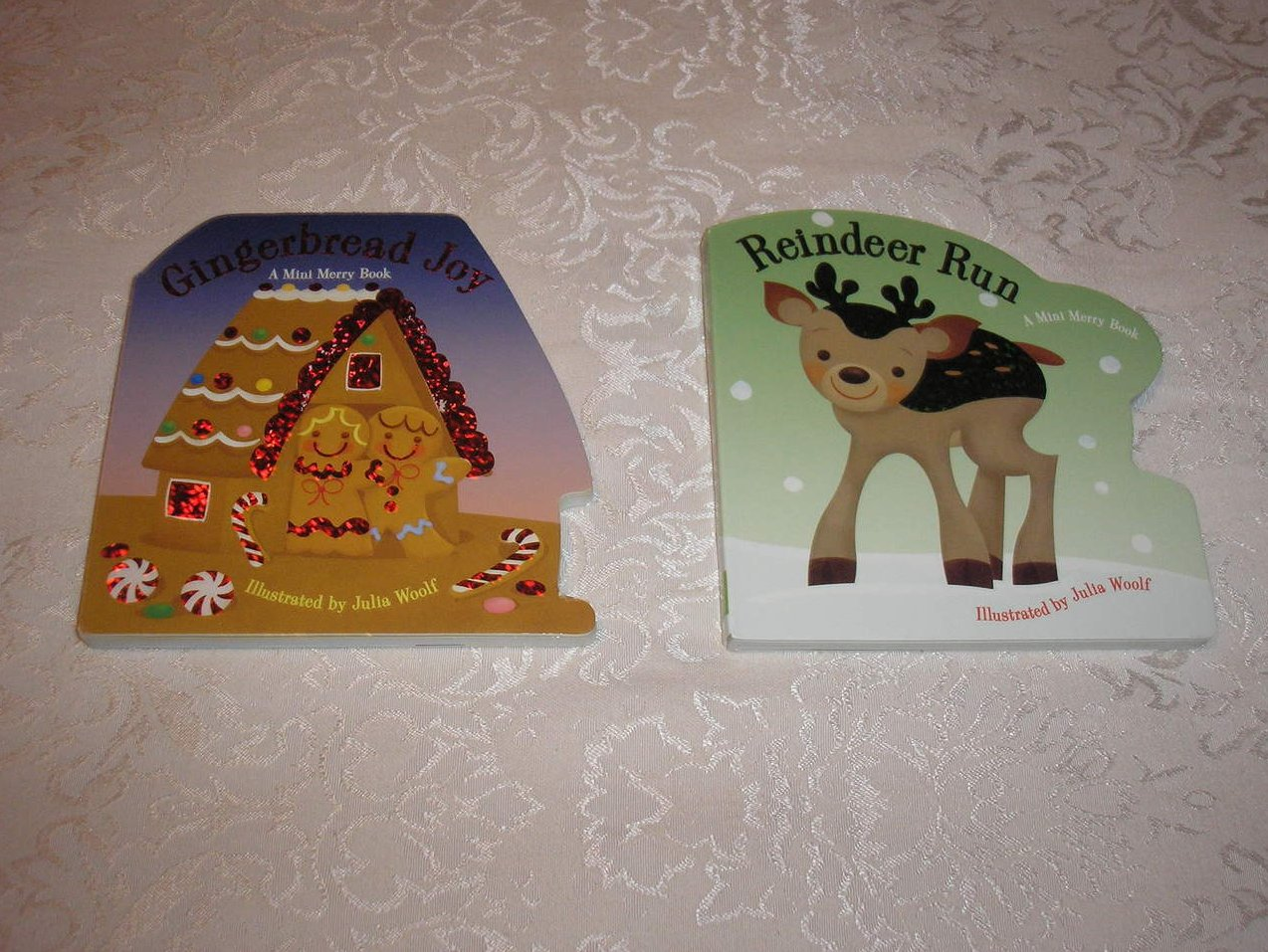 Christmas Board Books Julia Woolf  brand new