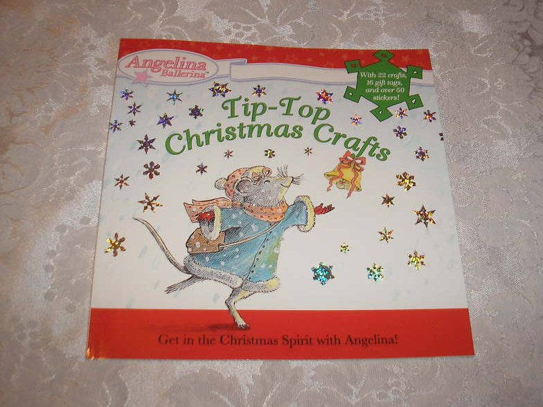Angelina Ballerina Tip-Top Christmas Crafts brand new sc
