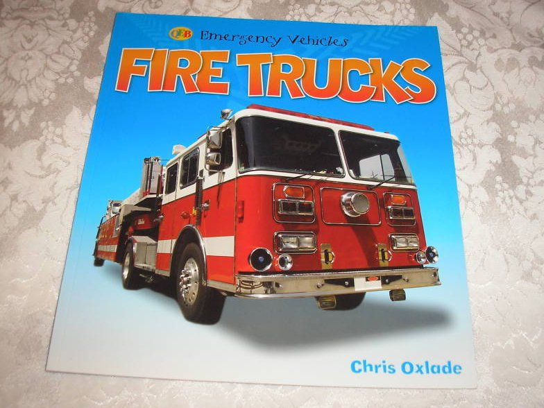 Fire Trucks QEB Emergency Vehicles Chris Oxlade brand new sc