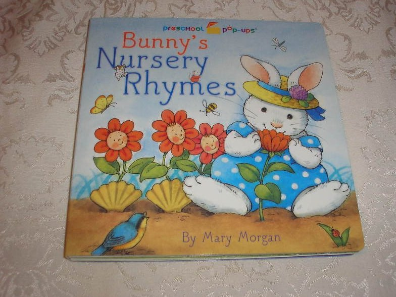 Bunny's Nursery Rhymes Mary Morgan brand new pop up board book