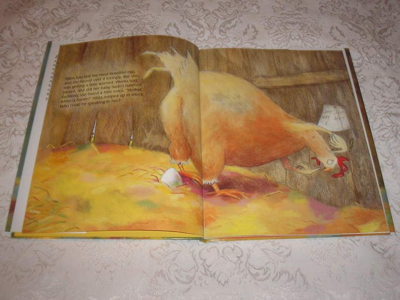 Image 1 of The Easter Chick Geraldine Elschner Brand New Hardcover with Dust Jacket