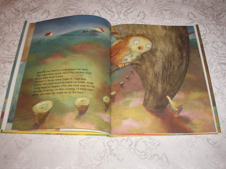 Image 4 of The Easter Chick Geraldine Elschner Brand New Hardcover with Dust Jacket