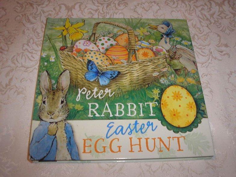 Peter Rabbit Easter Egg Hunt Beatrix Potter new pop up lift the flap hc