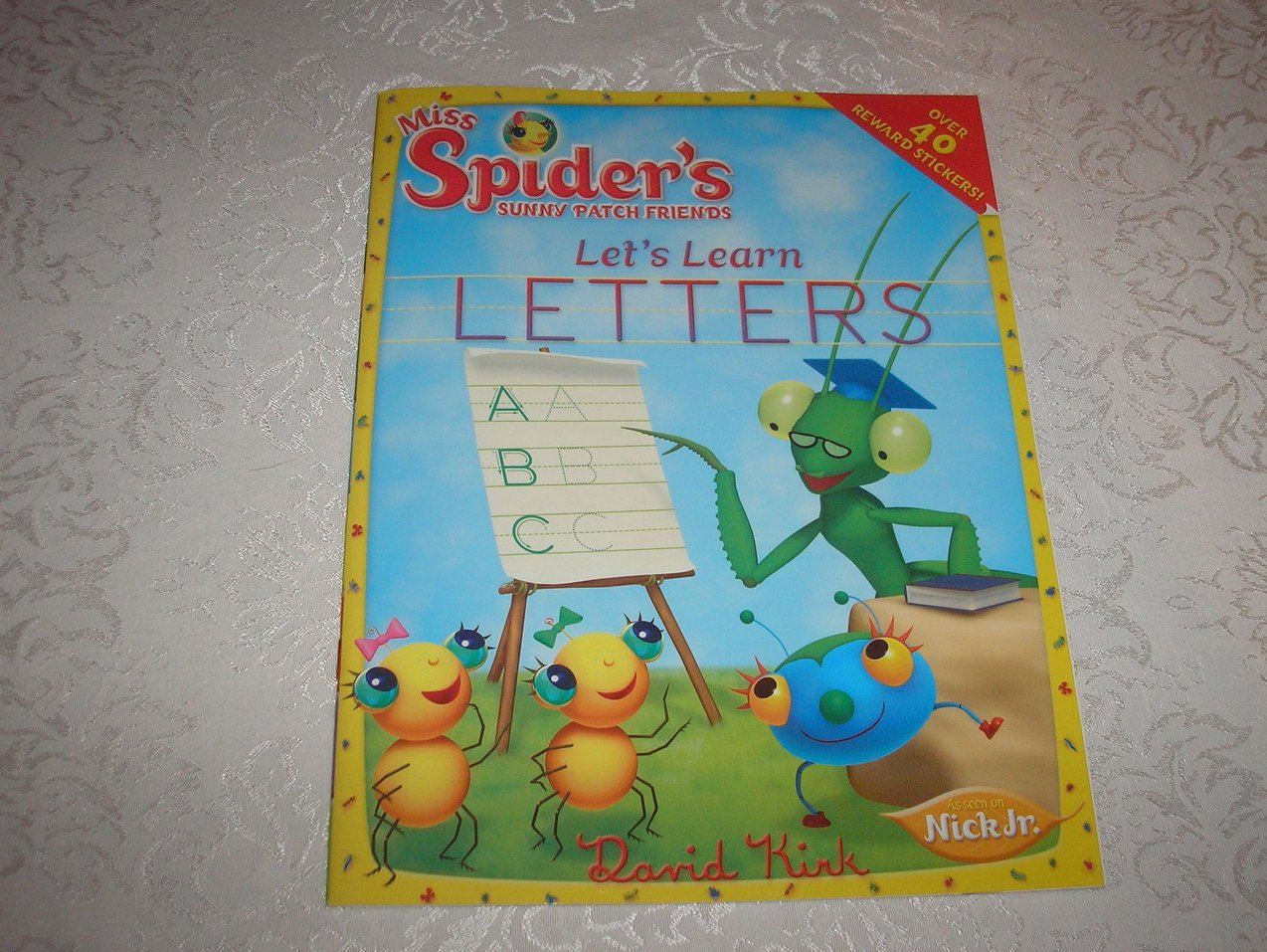 Miss Spider's Sunny Patch Friends Let's Learn Letters brand new activity book
