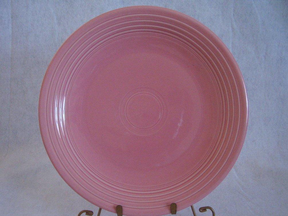 Fiesta Rose Chop Plate Fiestaware Contemporary