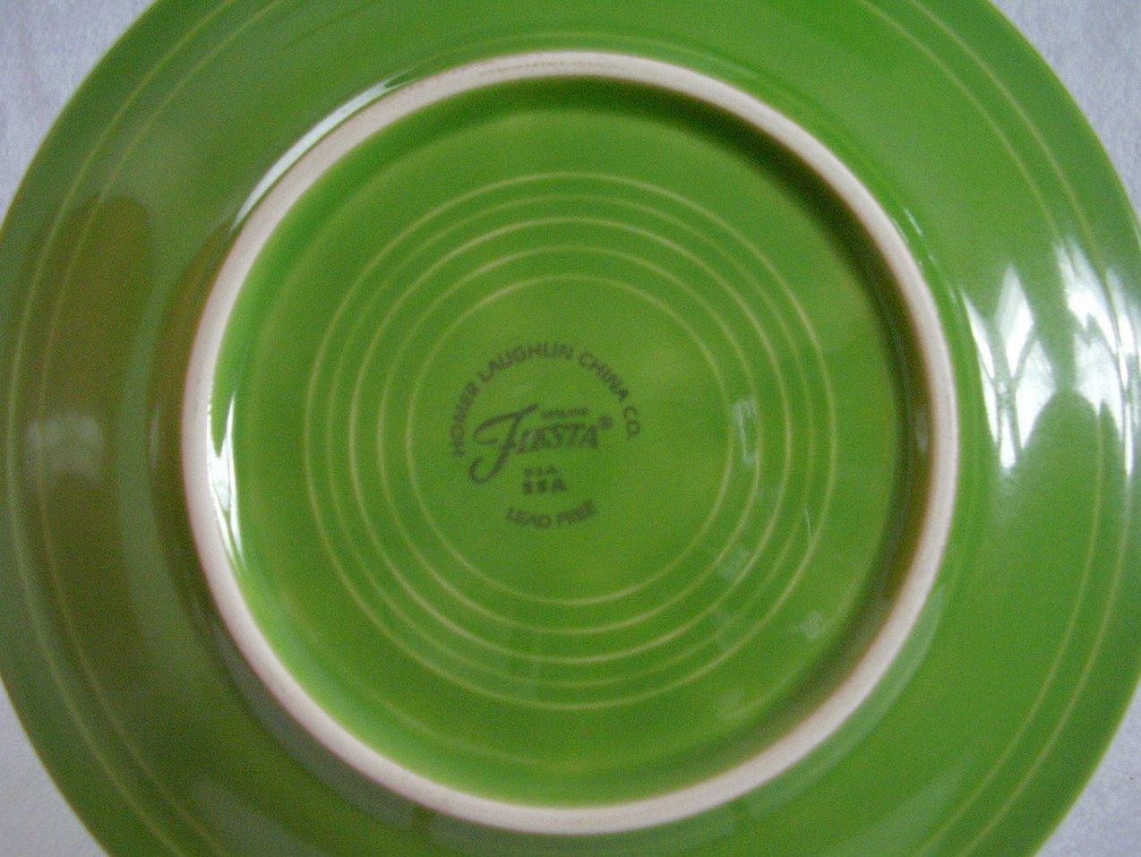 Fiesta Shamrock Salad Plate