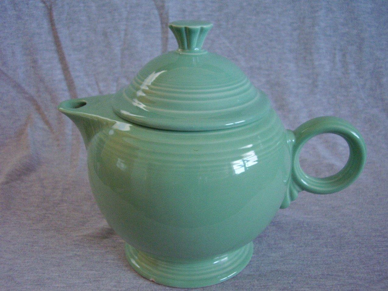 '.Fiesta Seamist Large Teapot .'