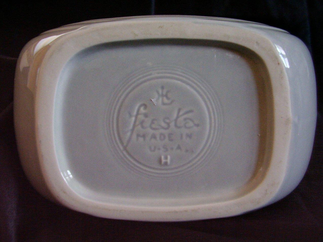 Fiesta Pearl Gray Disk Pitcher
