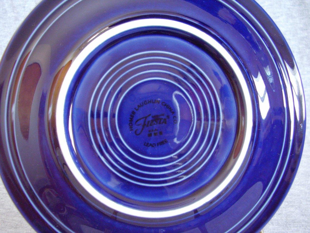Fiestaware Cobalt 5pc Placeset