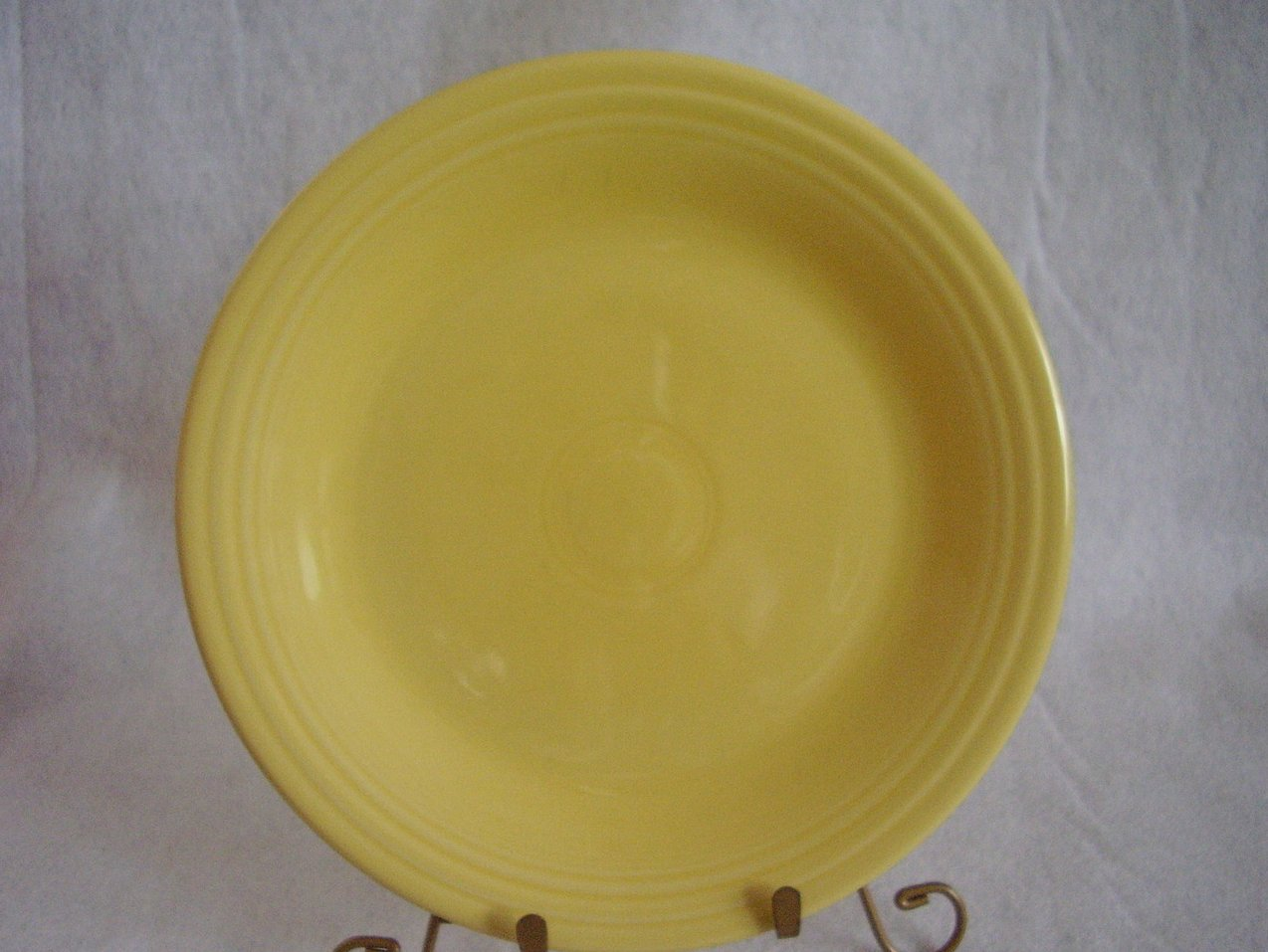 Fiesta Light Yellow Dinner Plate Fiestaware Contemporary