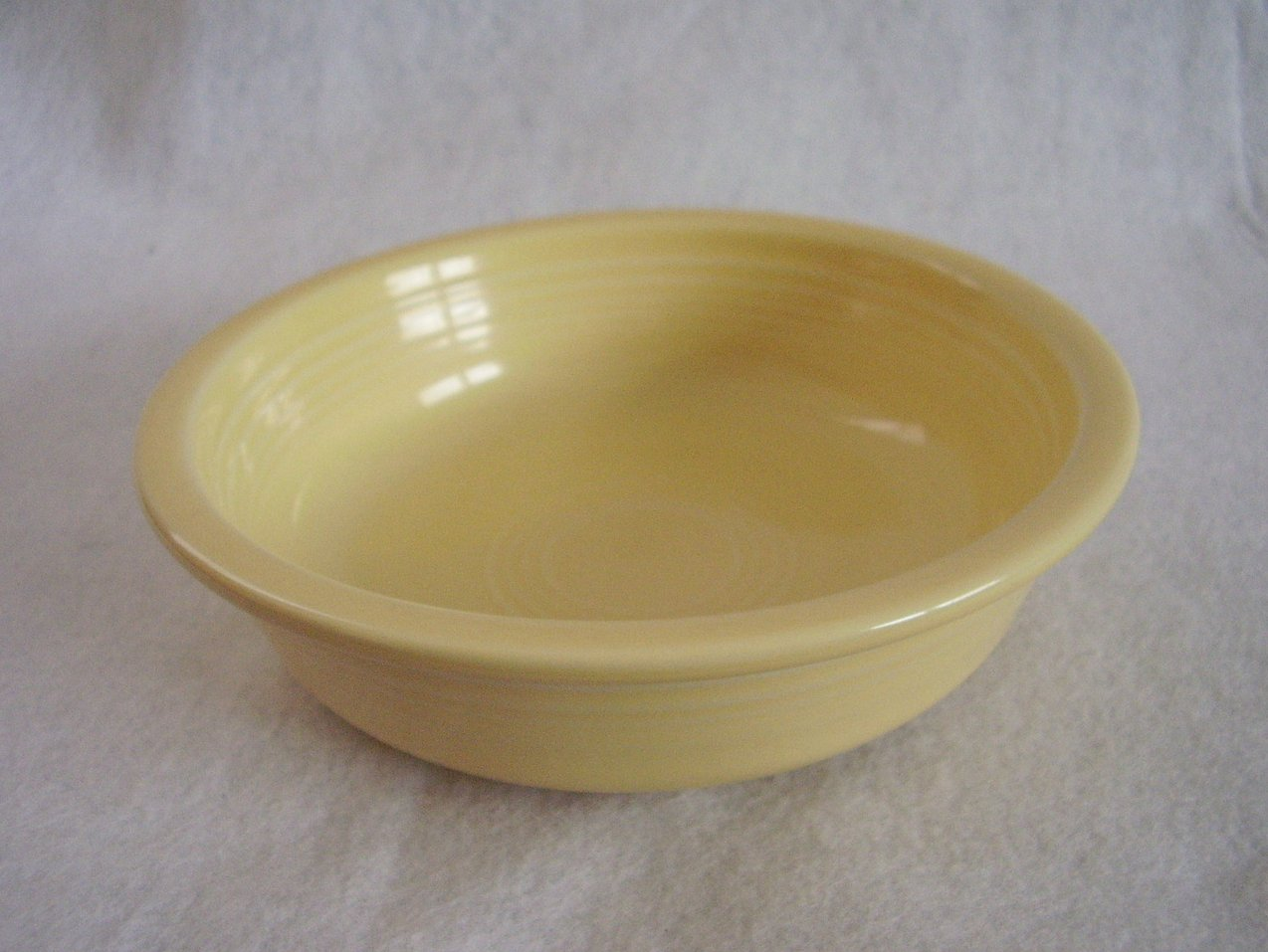 Fiesta Light Yellow Stacking Soup Cereal Bowl Fiestaware Contemporary