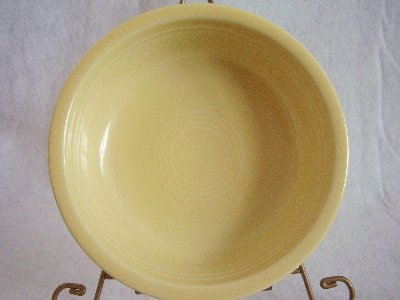 '.Fiesta Light Yellow Bowl.'