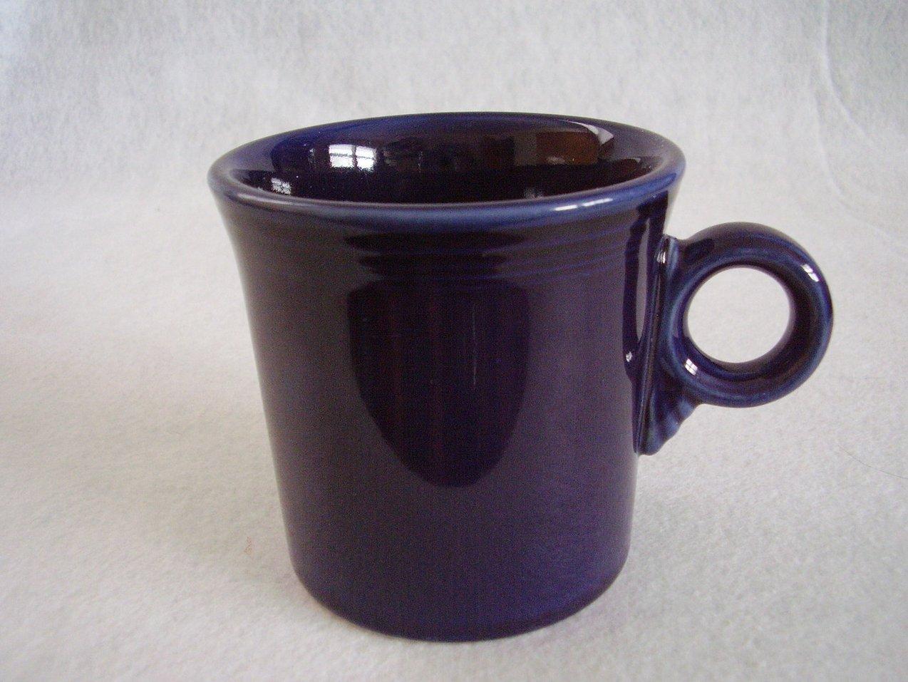 Fiestaware Cobalt T & J Mug