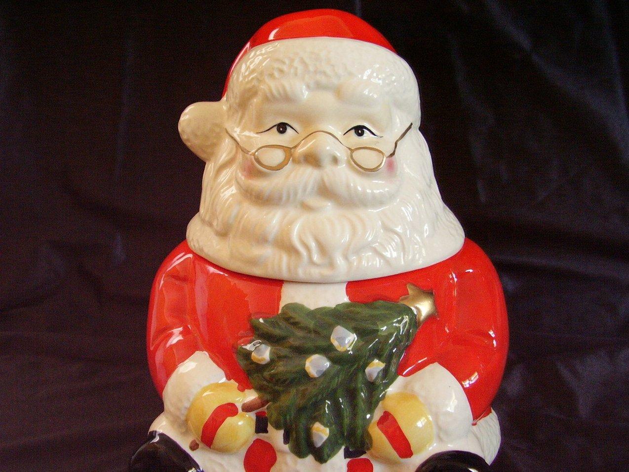 '.Gibson Santa Cookie Jar Christ.'