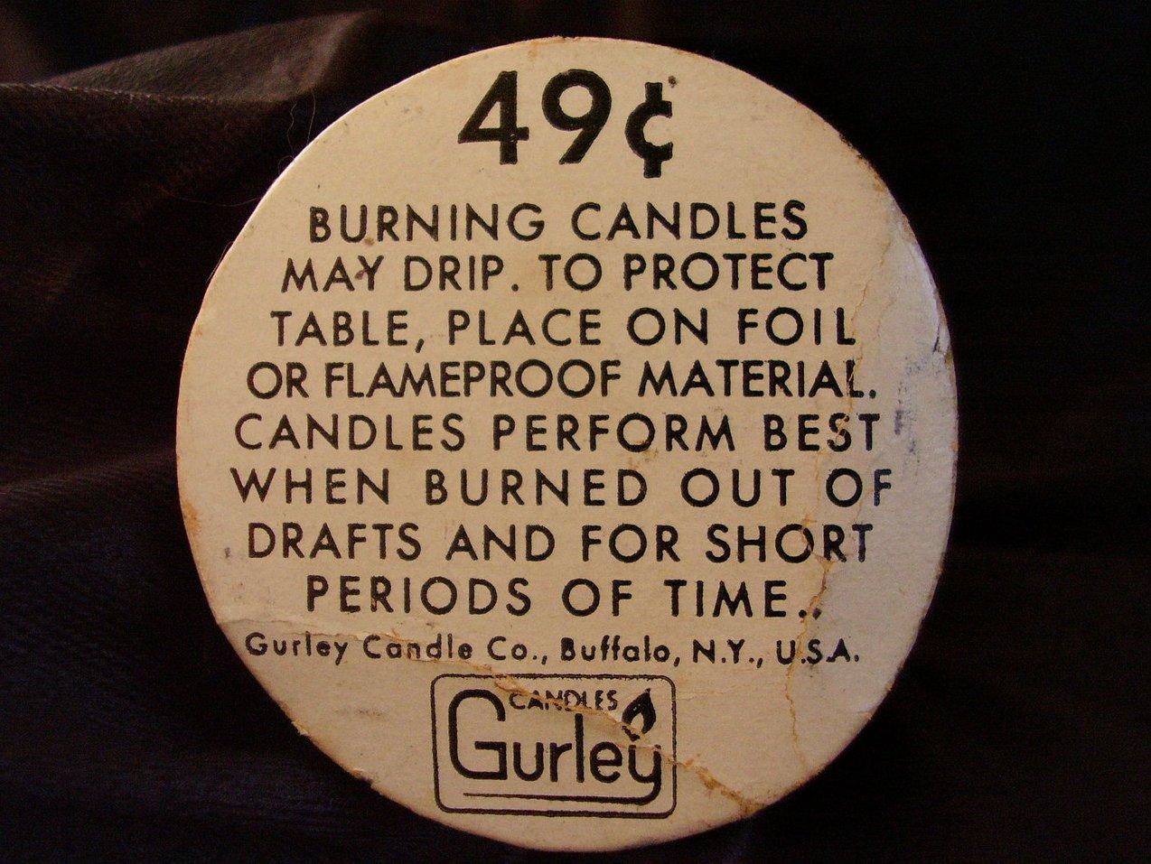 Gurley Pumpkin Candle