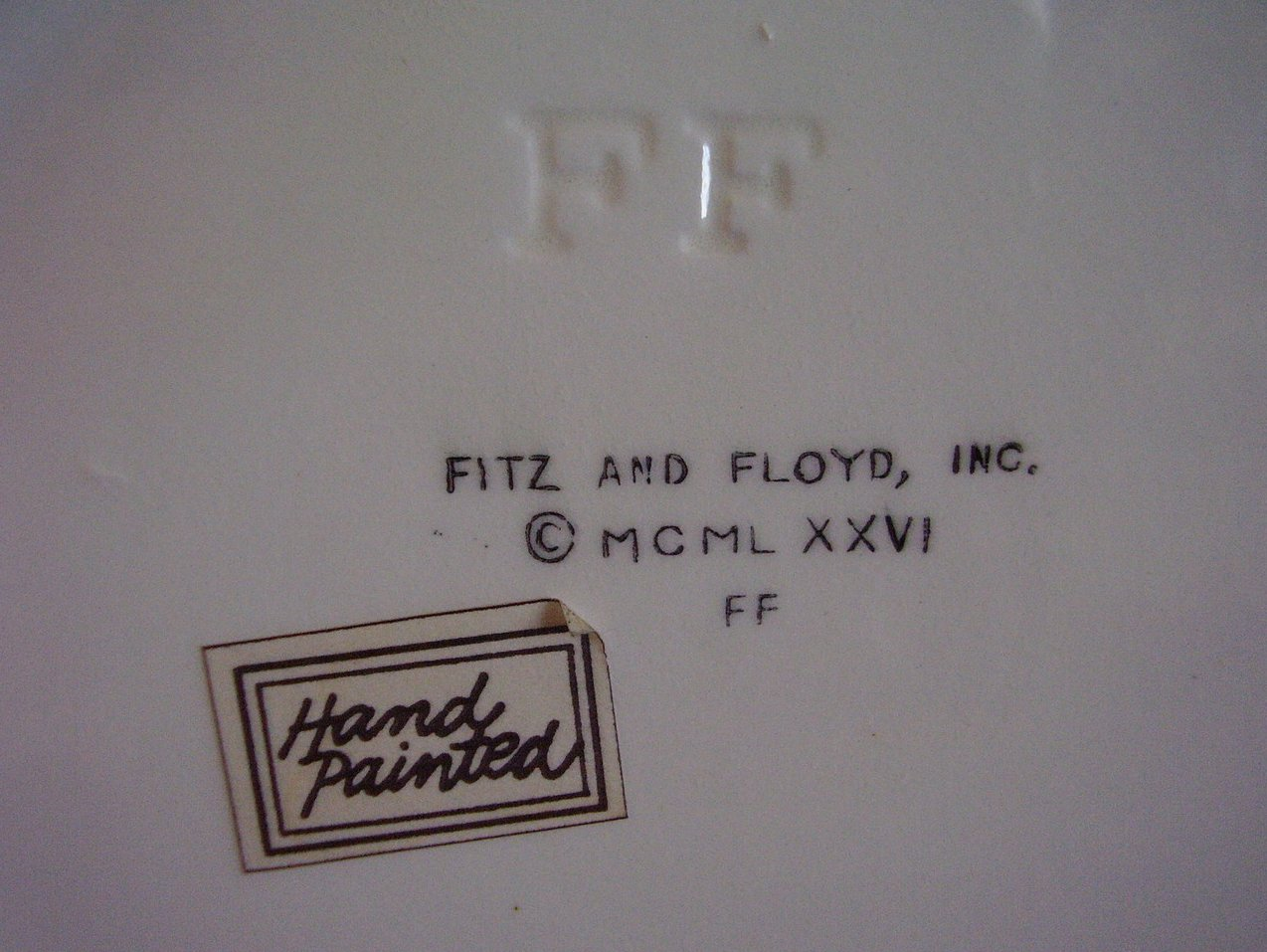 Fitz & Floyd Holly Mug