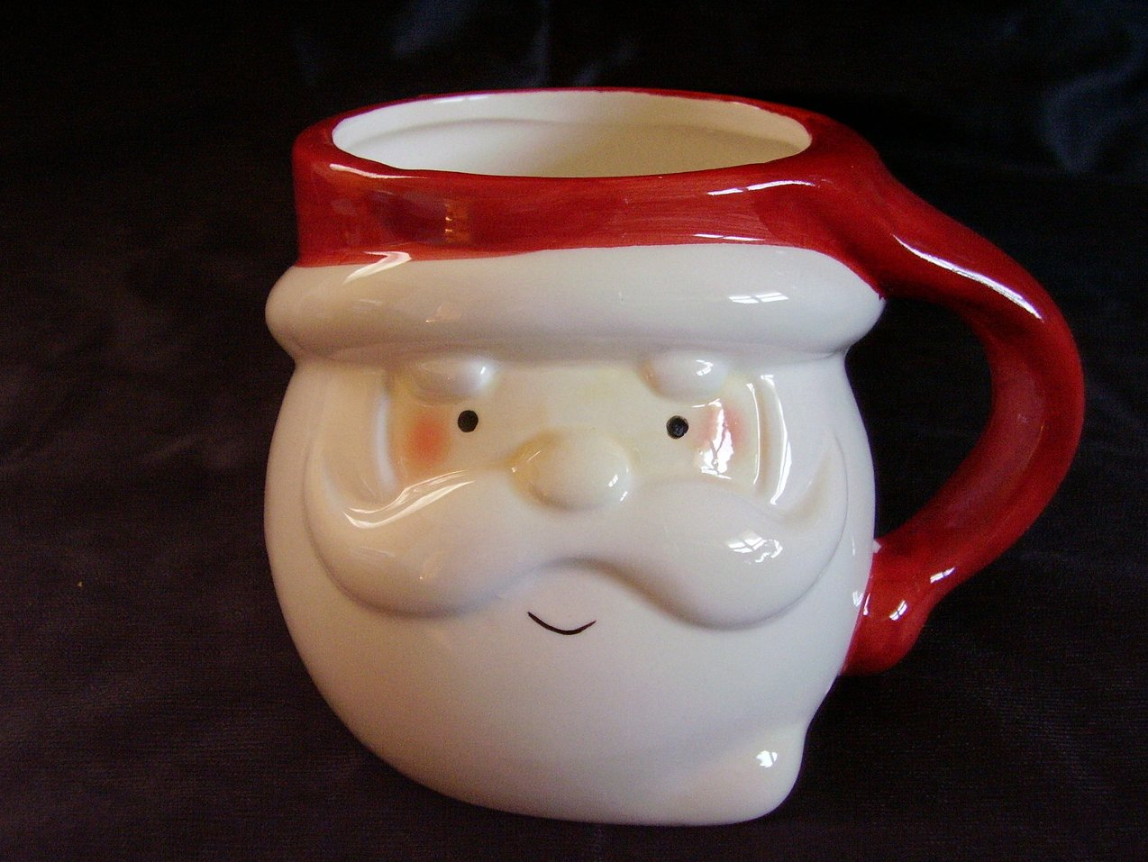 Christmas Santa Chocolate Mug Cup Collectible B