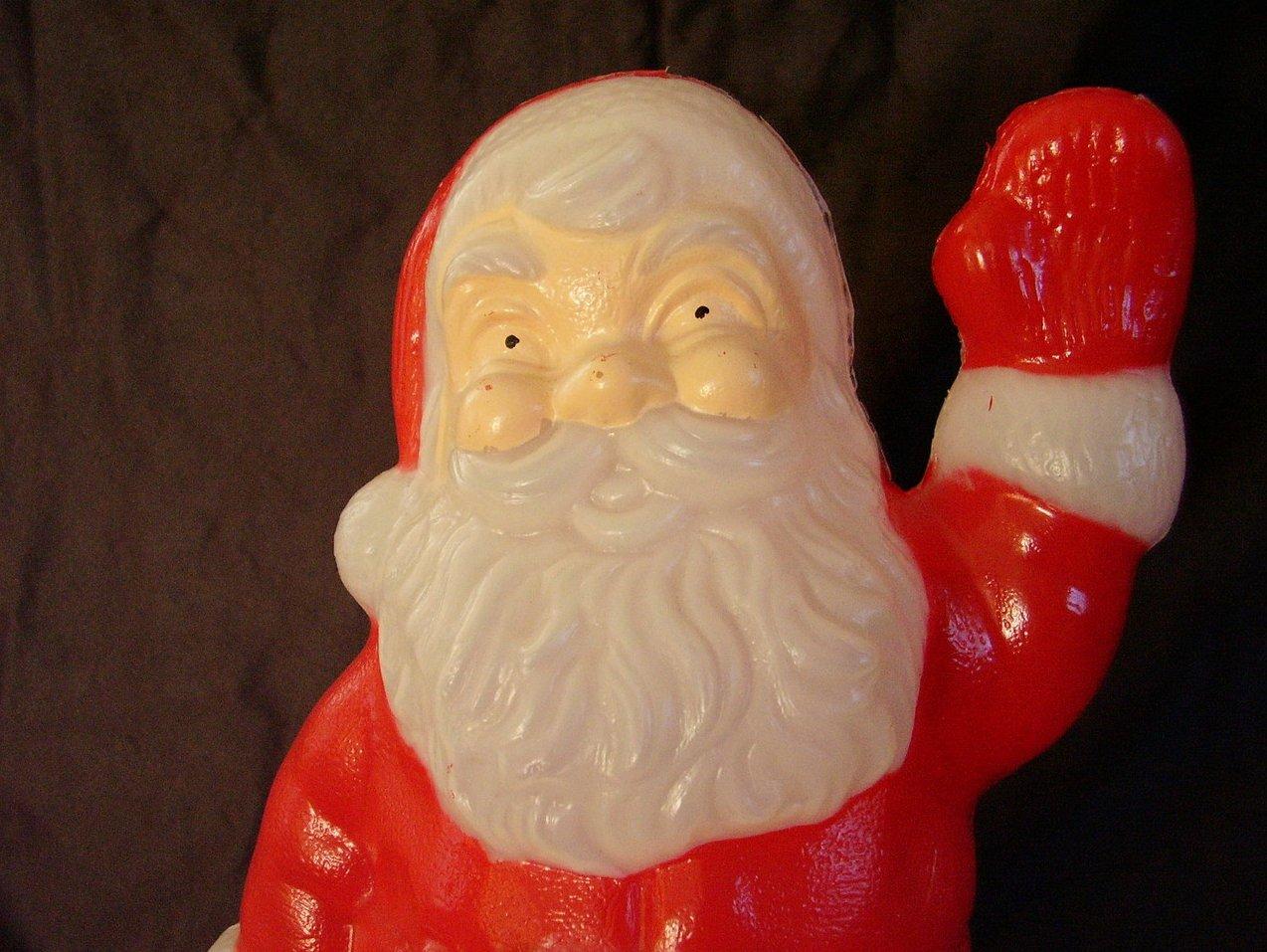 '.Santa Lighted Blow Mold.'