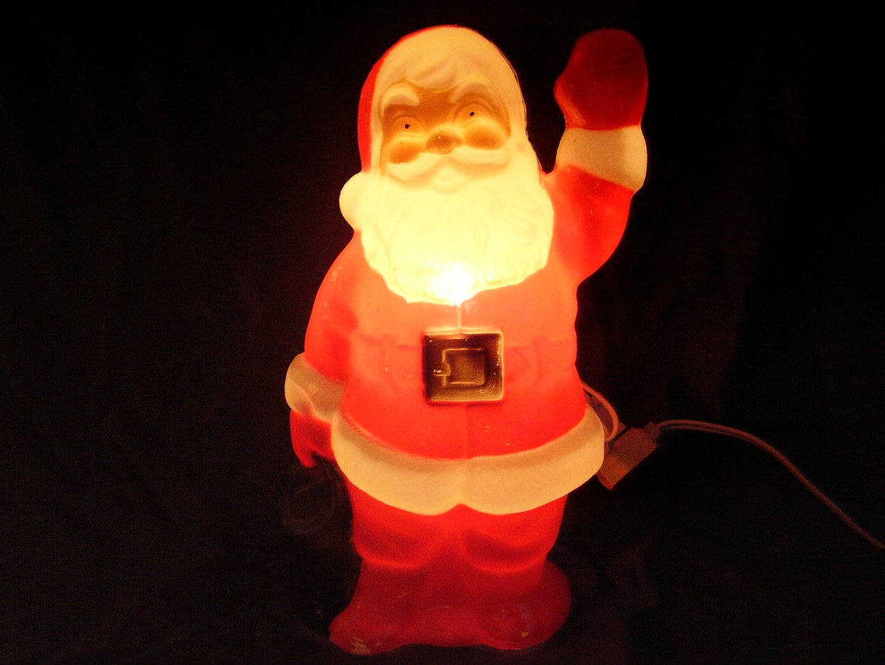 Santa Lighted Blow Mold