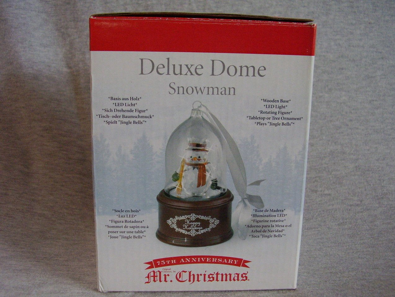 Mr Christmas Deluxe Dome Light