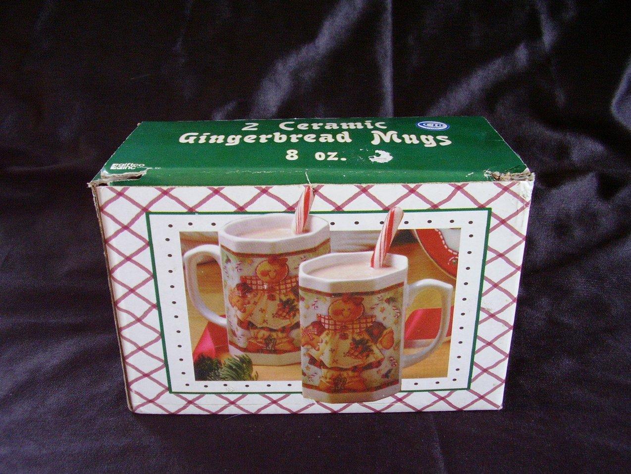 2 Ceramic Christmas mugs