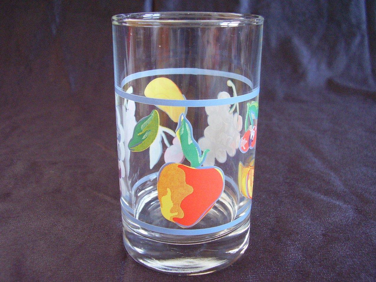 Corelle Fruit Basket Juice Glass