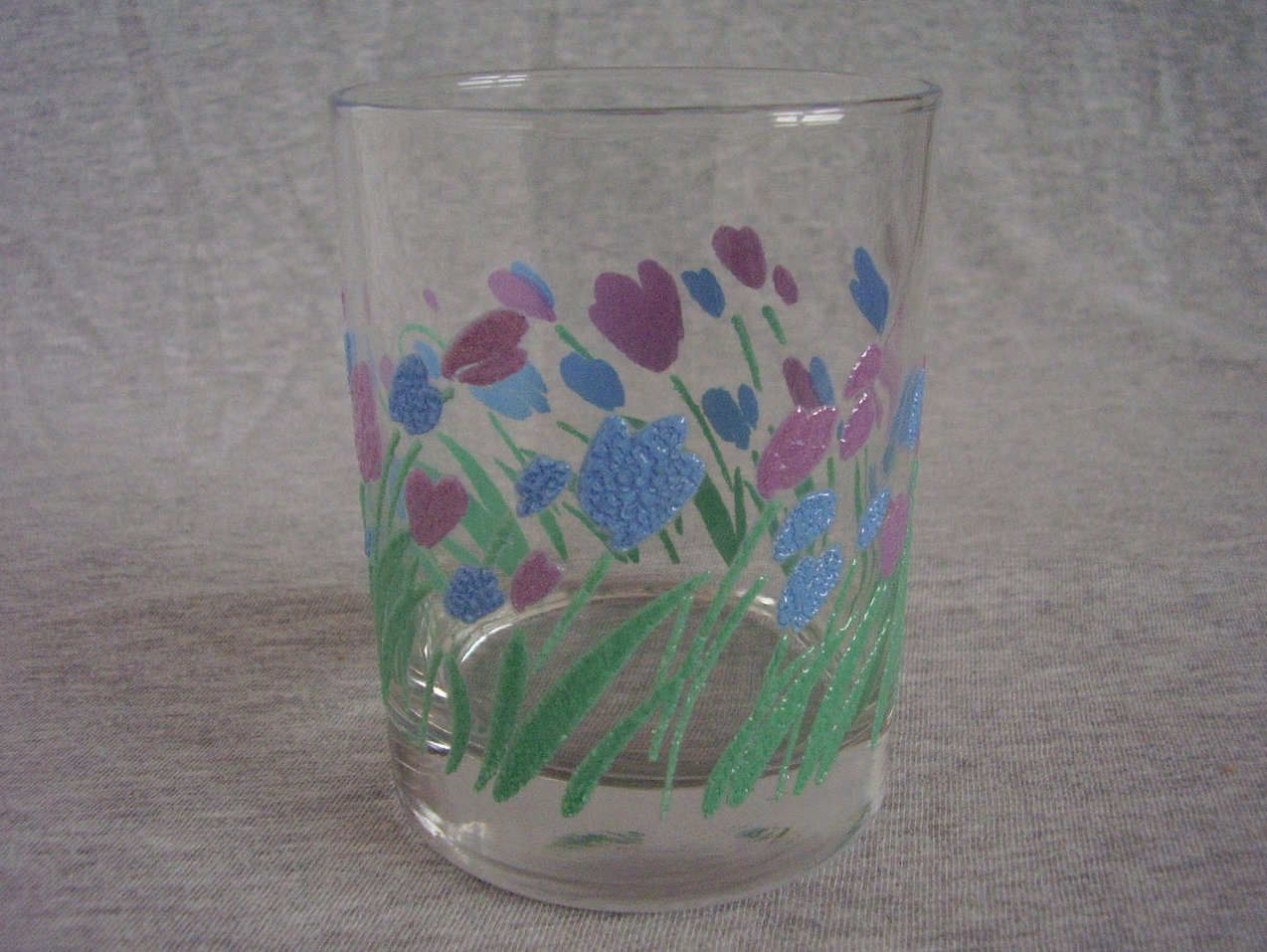 Springtime Tulip Rocks Glasses