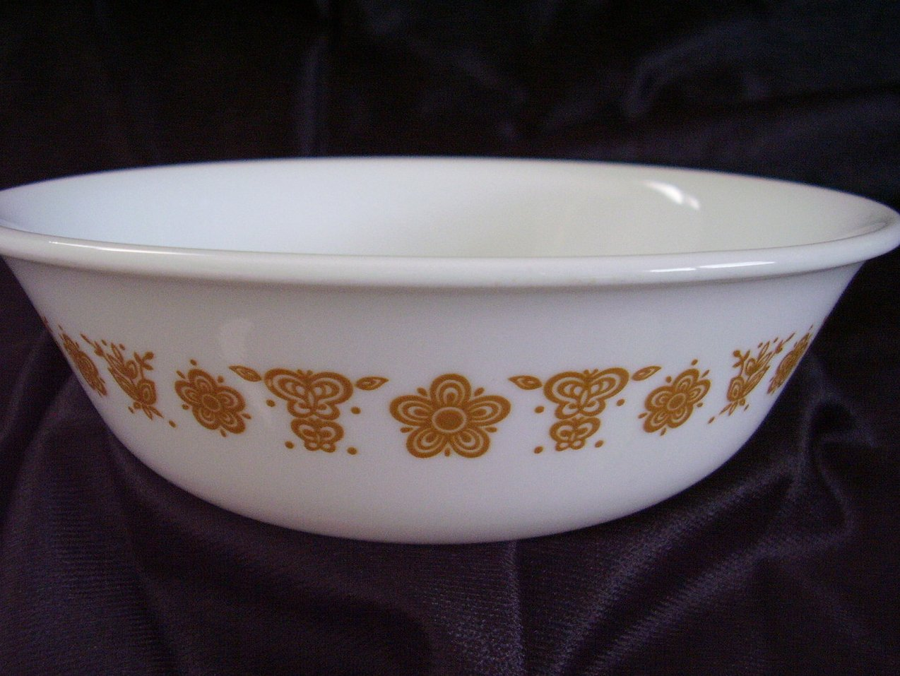 '.Corelle Butterfly Gold Soup Ce.'