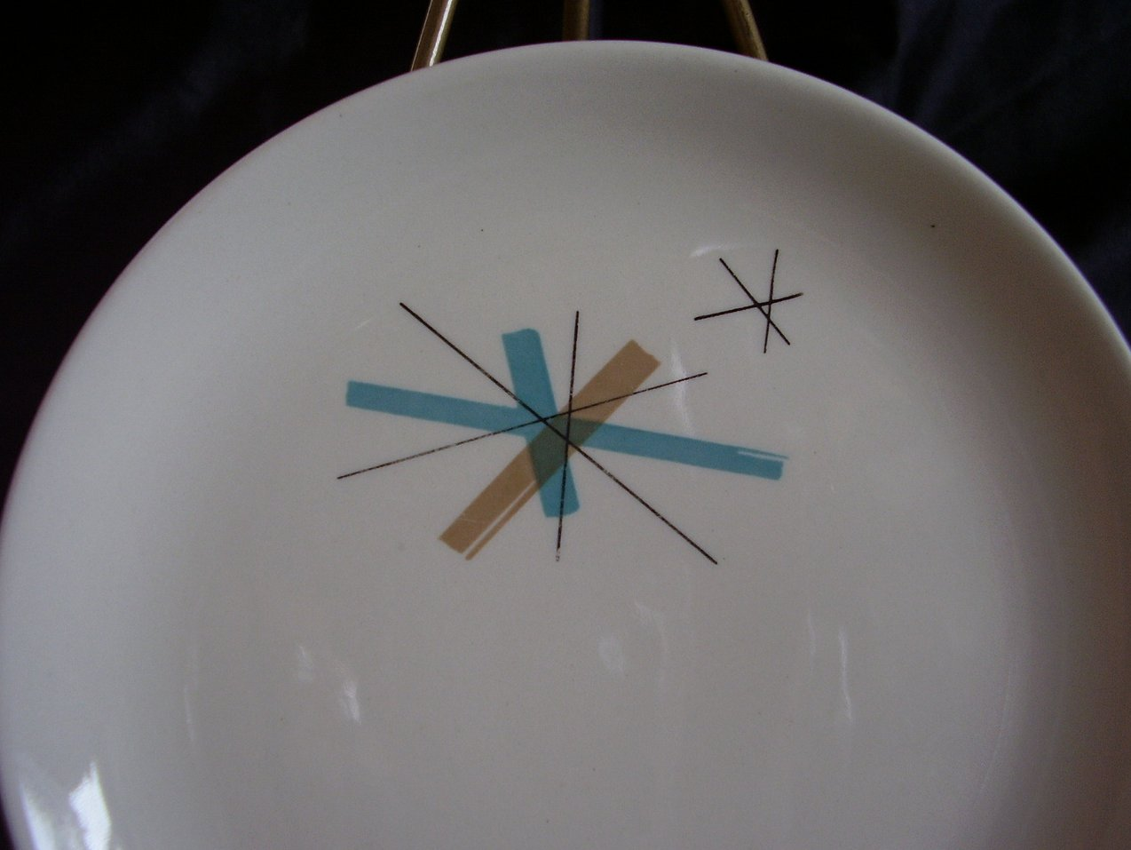 '.Salem North Star Bread Plate.'