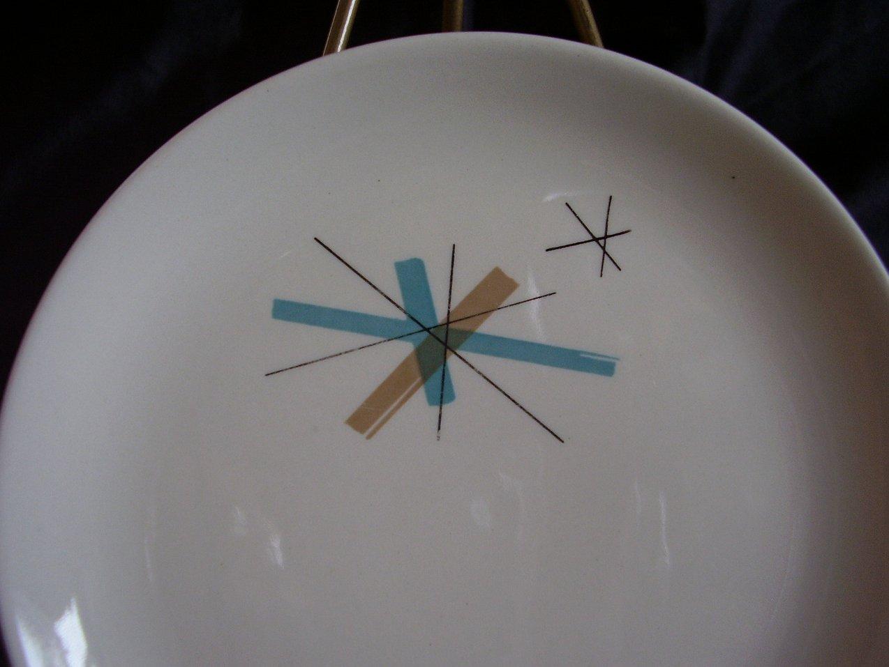 '.Salem North Star Bread Plate.'