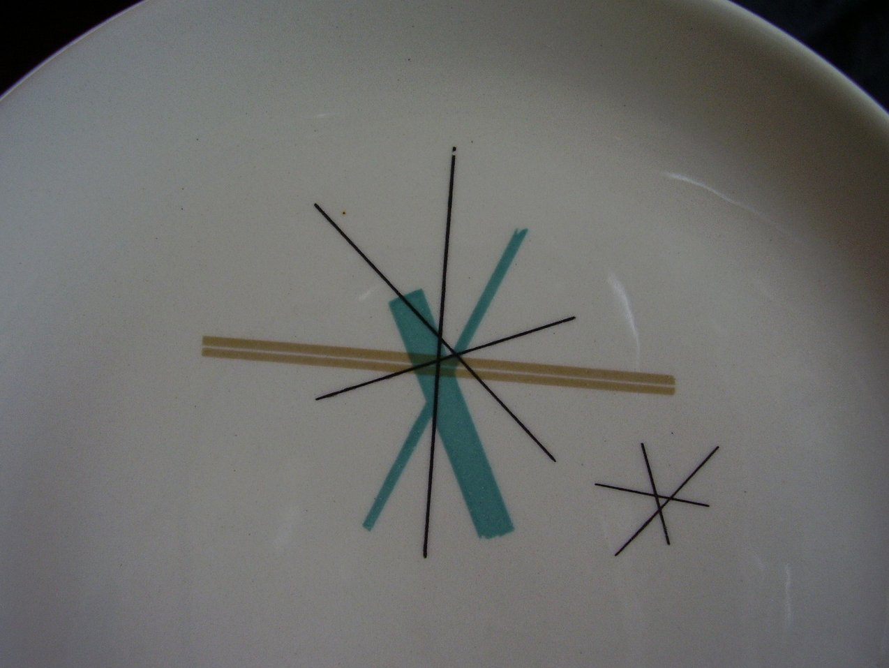 '.Salem North Star Salad Plate.'