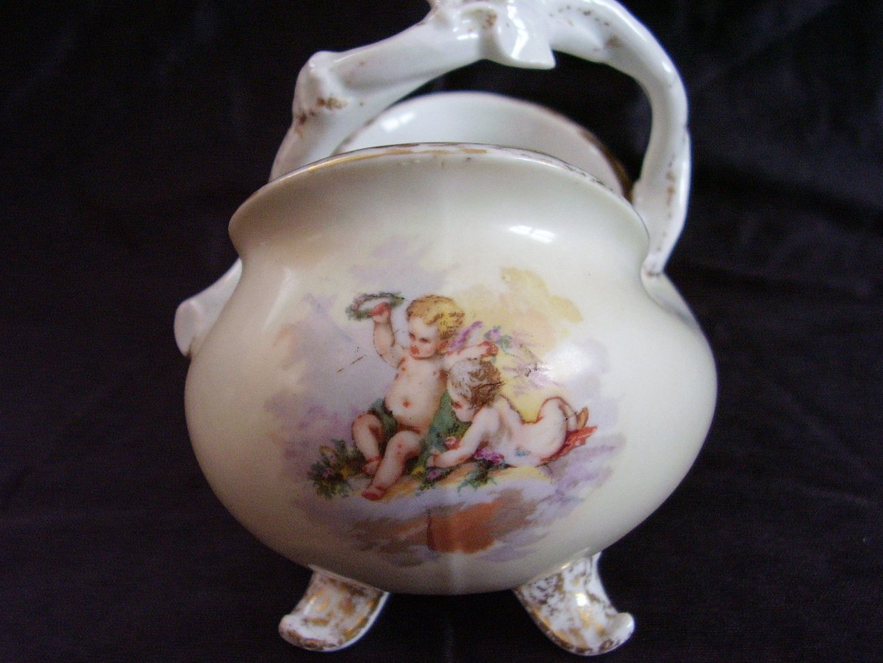 Antique Limoges French Open Su