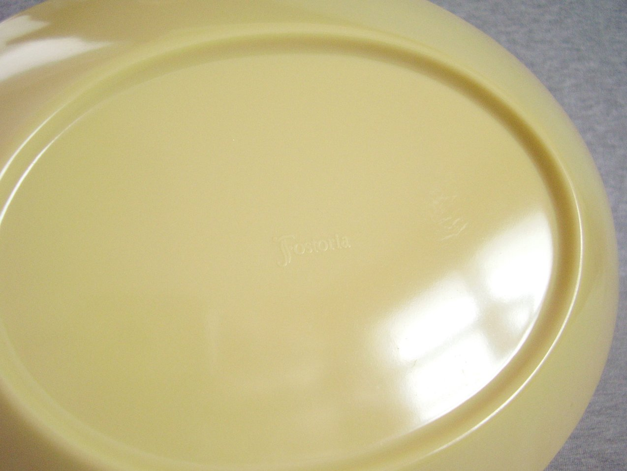 Fostoria Melmac Divided Bowl
