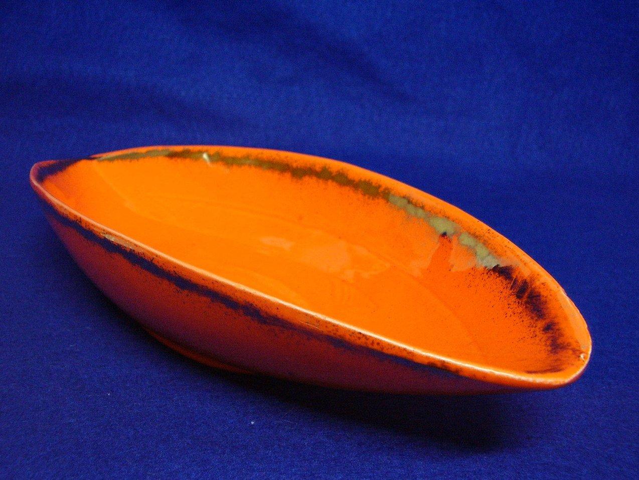 California USA Orange dish