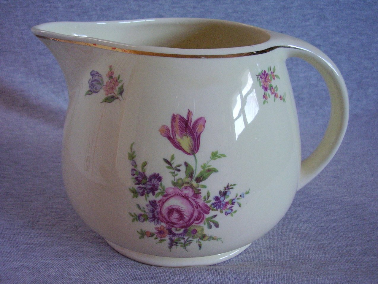 Homer Laughlin Kitchen Kraft Priscilla Open Jug Pitcher